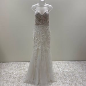 NWT White One Designer Wedding Dress